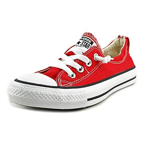Converse Women's Chuck Taylor Shoreline Slip Casual Shoe, Red- 8 B(M)