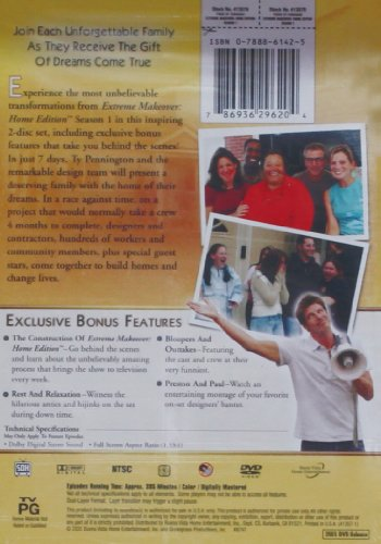 Extreme makeover home edition dvd masteringmovies for Extreme makeover home edition design game