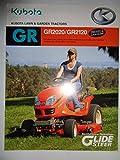 Kubota GR2020 GR2120 Lawn and Garden Tractor Sales Brochure 2/11