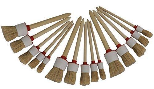 15 x Ringpinsel, Rundpinsel, Malerpinsel, Reinigungspinsel, Lackpinsel Preisjubel