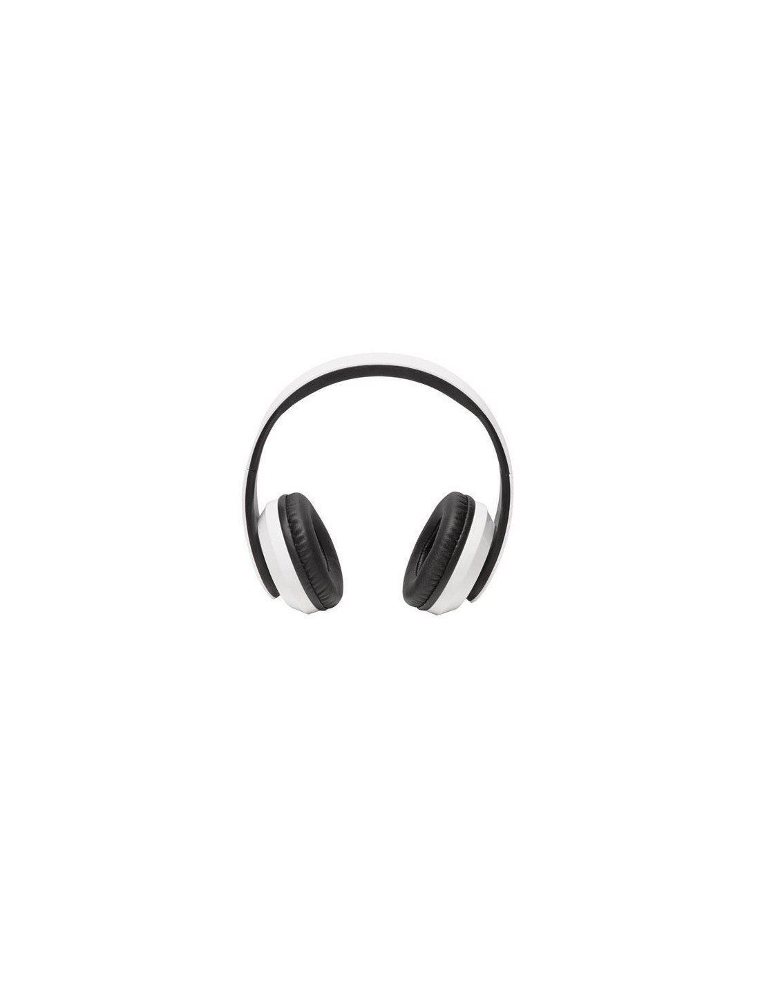 Denver Electronics BTH-203W Binaural Diadema Negro, Blanco Auricular con micrófono - Auriculares con micrófono (PC/Juegos, Binaural, Diadema, Negro, Blanco, ...