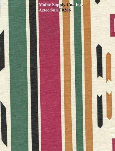 Aztec Sun Series F0266 Vinyl Tablecloth 54