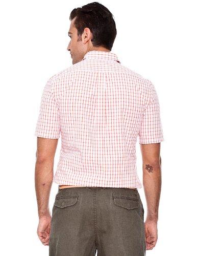 dockers Camisa Naranja M: Amazon.es: Ropa y accesorios