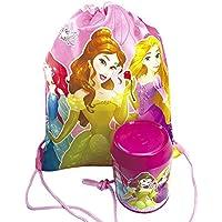 Lata + Mochila Saco Princesas - Disney