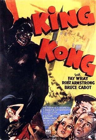 "King Kong Poster Replica 13 x 19/"" Photo Print"