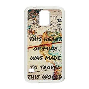samsung galaxy s5 phone case White for travel the world - EERT3397210