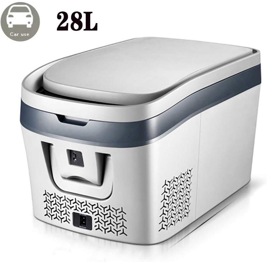Lyy - 8866 Nevera Neveras Congelador Refrigerador Nevera Portatil con Compresor 12V 24V/220-240V Nevera Electrica PequeñA (28L/38L) Nevera Coche Refrigerador del Coche VehíCulo Acampadas Oficinas