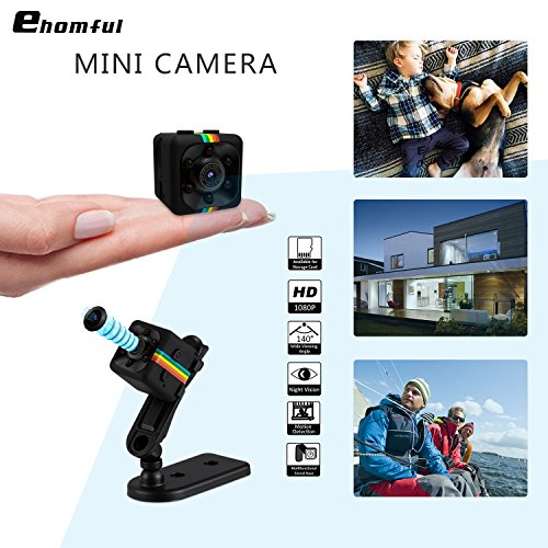 Ehomful Mini Spy Camera, Wireless Hidden Secret Night Vision Camera,1080P Nanny Camera for Security Surveillance.