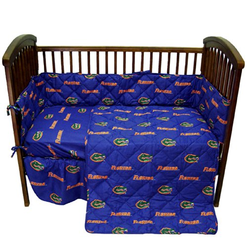 College Covers Florida Gators 5 Piece Baby Crib Set