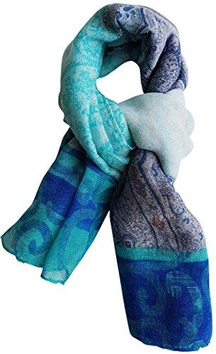 Femme Foulard 185 Cm Plusieurs Top Disponibles Homme Bleu Écharpe Doux Tendance Long Accessoire 110 Couleurs Très X Chèche wOI6vqXnX