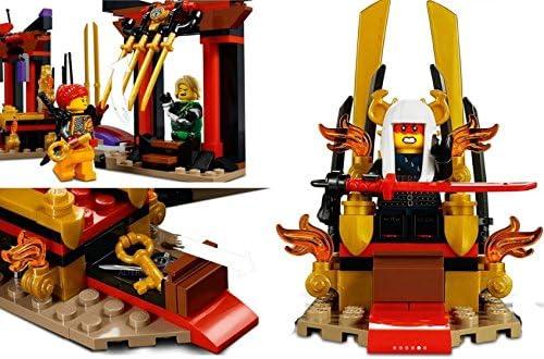 LEGO 2018 NEW NINJAGO Throne Room Showdown 70651