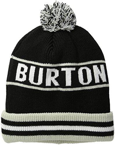 Burton Trope Beanie, True Black, One Size (Burton Mens Beanie)