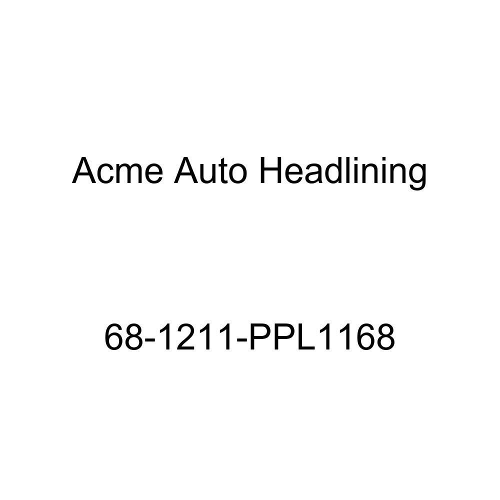 Acme Auto Headlining 68-1211-PPL1168 White Replacement Headliner Oldsmobile Toronado 2 Door Hardtop 5 Bows