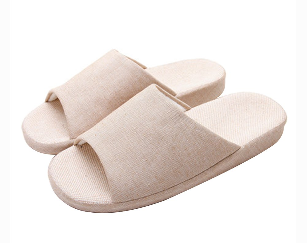 (Made By Flax) Skidproof The Simple Style Of Home Slippers Blancho Bedding