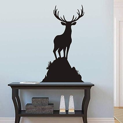 Amazon Com Flywalld Buck Wall Decal Animal Living Room Wall Sticker