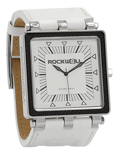 Rockwell Time Automatic Leather Casual (Model: CF128) Watch, White by Rockwell Time