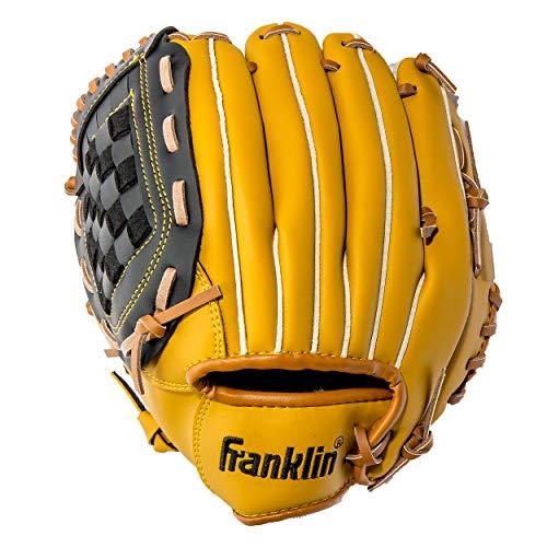 "Franklin Sports Field Master Series Softball & Baseball Gloves, Left Handed Thrower, 10"""