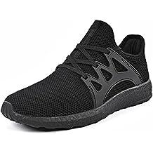 Mxson Men's Ultra Lightweight Breathable Mesh Street Sport Walking Shoes Casual Sneakers