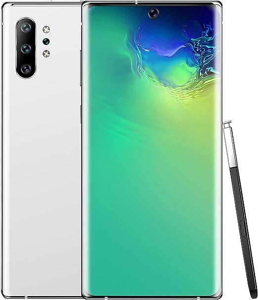 Nota 10 + Android Desbloqueado Smartphone con 6.5 Pulgadas de Pantalla Full HD, Doble Tarjeta SIM, Doble cámara de 13 MP + 23MP,Blanco,USPlug: Amazon.es: Hogar