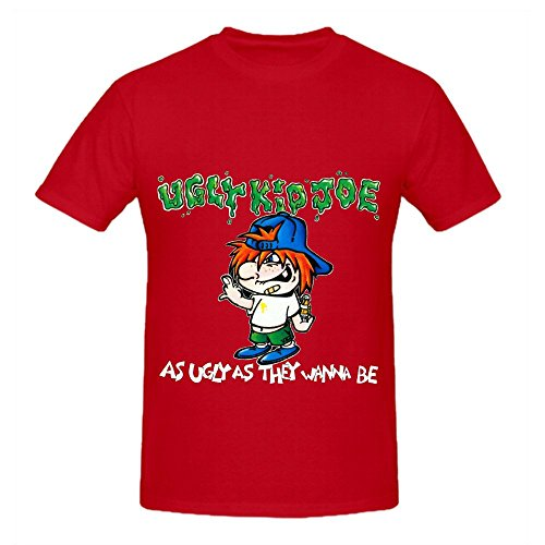 Ugly Kid Joe As Ugly As They Wanna Be Soul Men Crew Neck Design T Shirts Red