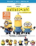 Minions [Blu-ray + DVD + Digital Copy]