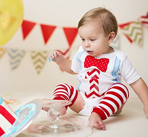 cdfe9faa4 First Birthday Outfit Boy 1st Onesie B-Day Baby Bow Tie Suspender Number One  Cake Smash Set