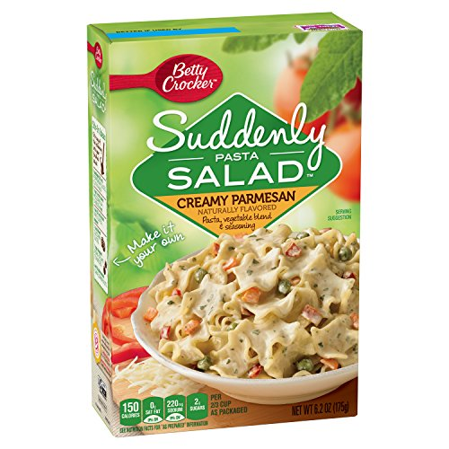 Suddenly Pasta Salad, Creamy Parmesan, 6.2-Ounce Boxes (Pack of (Creamy Pasta)
