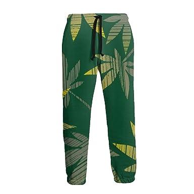 Inaayayi - Pantalones de chándal para Hombre, diseño de Hojas de ...