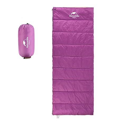Lzyc Saco de Dormir de Primavera y Verano, sección Delgada, Ultra Ligero, Impermeable