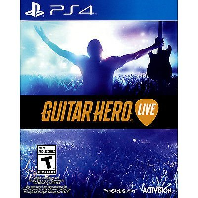 PS4 Guitar Hero Live - GAME ONLY