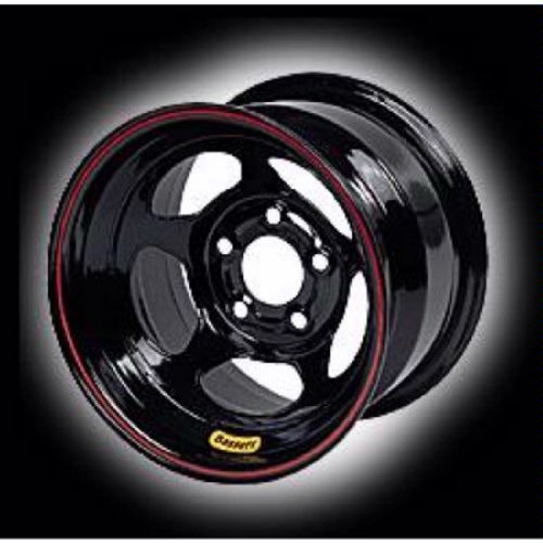 Bassett Wheels 58D53IL Black IMCA D-Hole Beadlock Wheel Size: 15