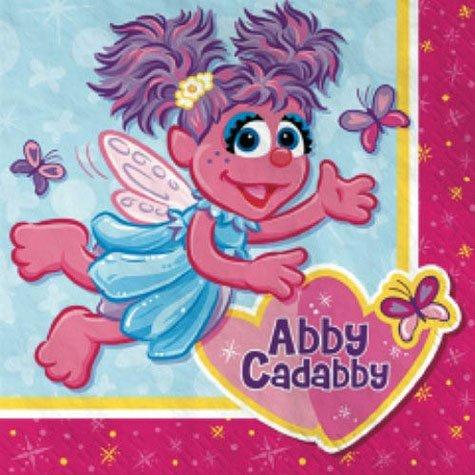 Designware Abby Cadabby Beverage Napkins - 16 ct