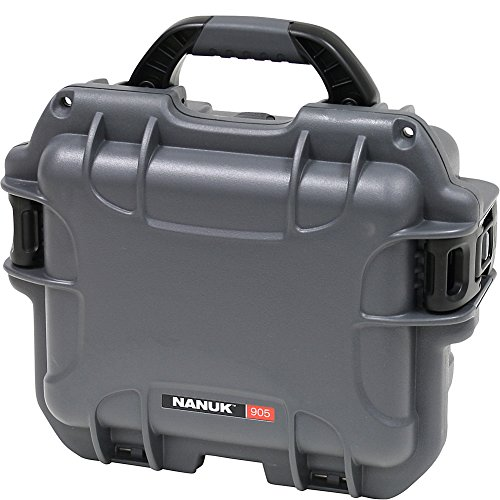 Nanuk 905 Waterproof Hard Case with Padded Dividers - Graphite by Nanuk