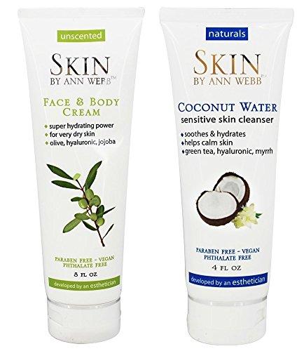 Skin by Ann Webb Face & Body Cream + Coconut Water Sensitive