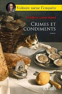 Crimes et condiments par Lenormand