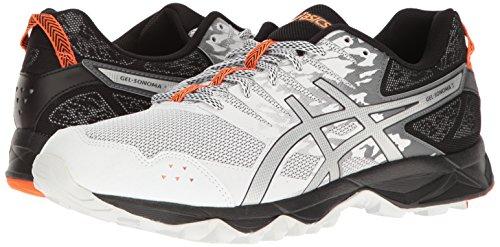 3 Gel Argent De Chaussures Vif sonoma Blanc Course Pour Hommes Asics Trail Orange wUOqqxIfE