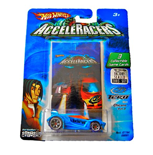 Hot Wheels AcceleRacers Chicane Teku #4 Of 9