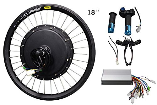 18inch 500w 36v-60v E-bike Conversion Kit Ebike Electric Bicycle Conversion Kit-front Hub Motor 141105 from Sporting Goods