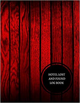 hotel lost and found log book hotel lost and found log journals