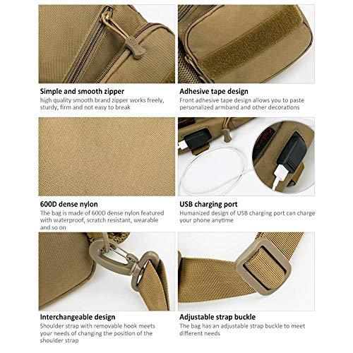 Viaje De Carga Con Para Desierto Bag Sling Ciclismo Shewt Usb Y Paquete Puerto Mochila Diagonal Digital Kettle Senderismo Crossbody Cover BnwngTxq0Y
