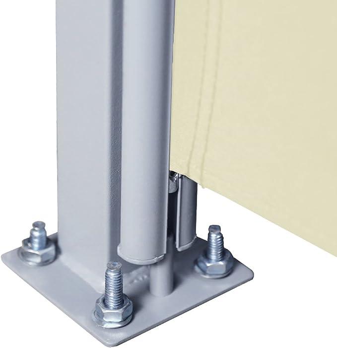 huigou HG® 2 x Toldo Lateral (180 x 300 cm Toldo Wind Protección ...