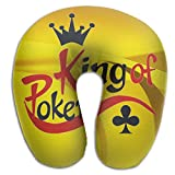 Poker King Super Comfortable U Type Pillow Neck Pillow Relex Pillow Travel Pillow With Resilient Material