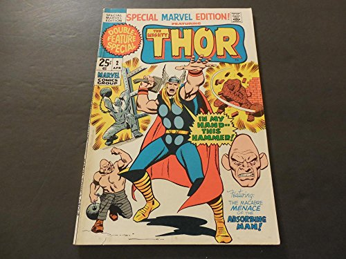 Special Marvel Edition #2 Apr 1971 Bronze Age Marvel Comics Thor