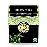 Organic Rosemary Tea - Kosher, Caffeine-Free, GMO-Free - 18 Bleach-Free Tea Bags