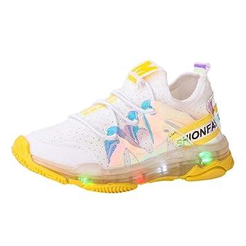 Wawer - Zapatillas deportivas para niños y niñas (letra de malla ...