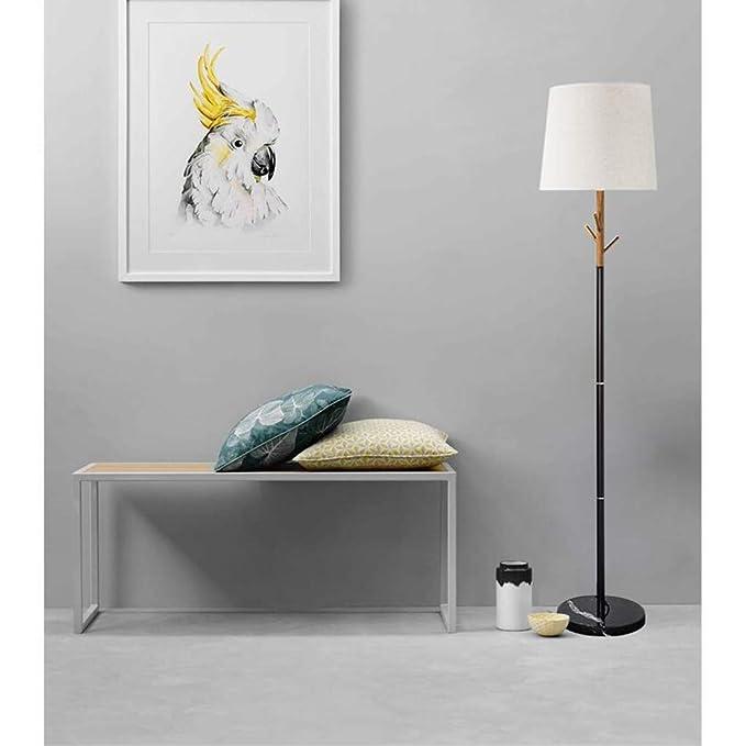 ZH Nordic Simple Lámpara de pie Interruptor de pie E27 ...