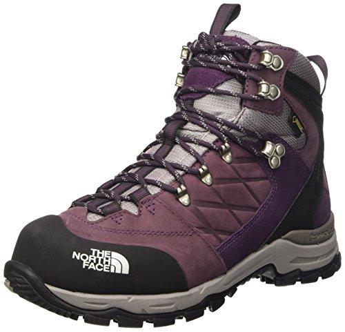 The North Face W VERBERA HIKER II GTX, Damen Trekking- & Wanderstiefel, Violett (L3M-BAROQUE PURPLE/FOIL GREY), 42 EU