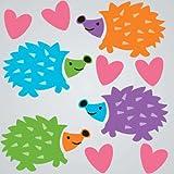GelGems Hedgehogs Small Bag Gel Clings