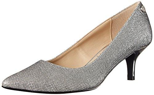 [J.Renee Women's Gianna Dress Pump, Silver, 7.5 N US] (Womens Harlequin Shoes)