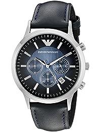 Emporio Armani Men's AR2473 Classic Analog Display Analog Quartz Blue Watch